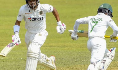 Sri Lanka vs Bangladesh, 1st Test: Najmul Shanto Hits Maiden Ton, Tamim Iqbal Scores 90 Runs On Day One In Pallekele