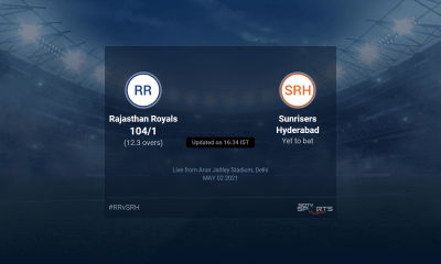 Rajasthan Royals vs Sunrisers Hyderabad live score over Match 28 T20 11 15 updates | Cricket News
