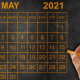 May 13 and May 14 are bank holidays in these states