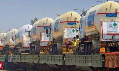 Railways delivered over 24,840 tonnes of oxygen so far, southern states got more than 10,000 tonnes