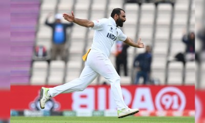 WTC Final: Mohammed Shami Wraps A Towel While On Field, Fans Post Amusing Reactions | Cricket News