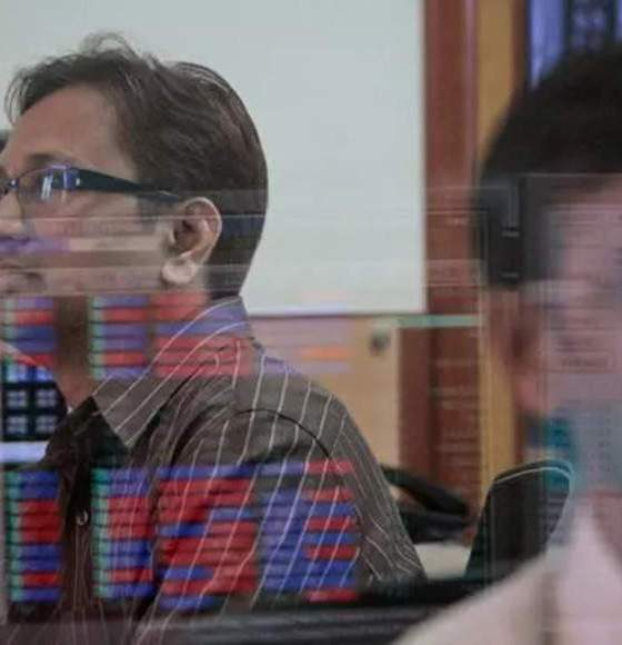Share price of Power Finance Corp.  falls  as Sensex  gains  327.09 points