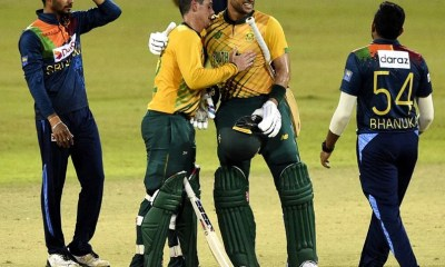 3rd T20I: South Africa Thrash Sri Lanka By 10 Wickets To Sweep Series 3-0