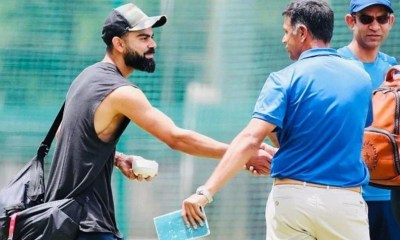 """""""No Detailed Discussion"""": Virat Kohli On Reports Of Rahul Dravid Becoming Next India Coach"""