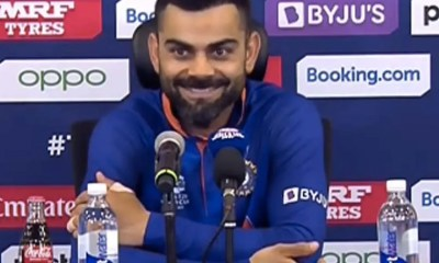 """T20 World Cup: """"Will You Drop Rohit Sharma"""", Virat Kohli Laughs Off Journalists Question Suggesting Ishan Kishan Should Replace Opener"""