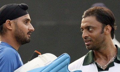 T20 World Cup: Shoaib Akhtar, Harbhajan Singh Indulge In Friendly Banter After Pakistan's Win Over India | Cricket News