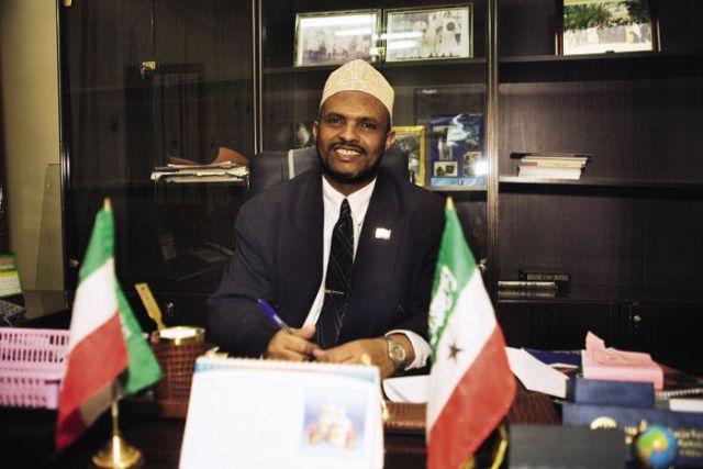 Ahmed Yusuf Yasin, the former vice-president of Somaliland