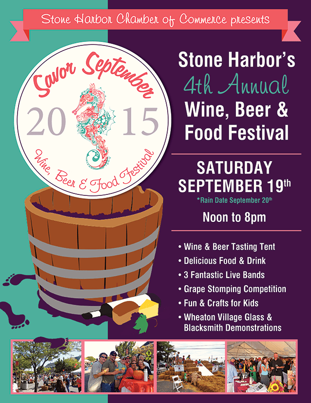 Stone Harbor Food And Wine Festival September