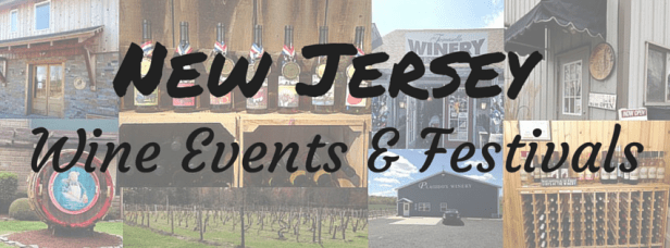 New Jersey Events - Wine Banner