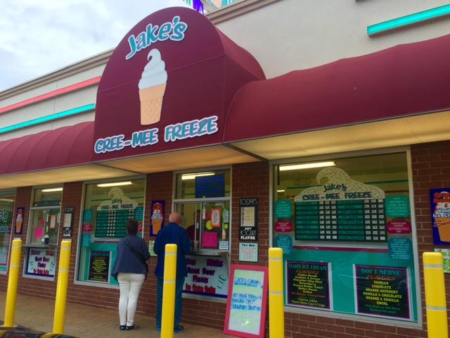 best ice cream in nj - jakes creemefreeze