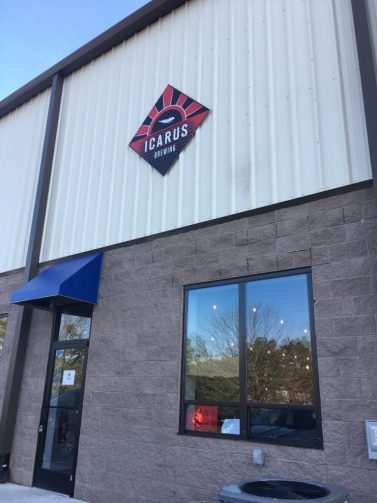 Image result for icarus brewing