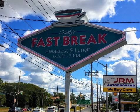 fast break diner njib