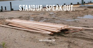 NJOP banner Stand Up. Speak Out