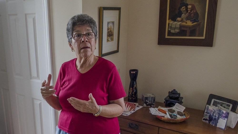 Woman discussing NJ Clawbacks