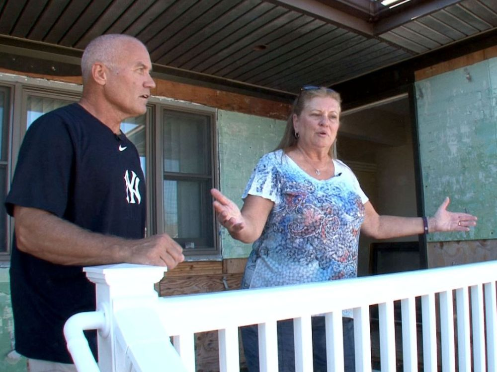 Homeowners after Sandy