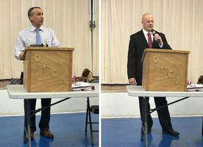 Speakers at Community Event