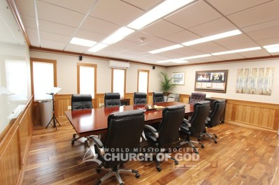 World Mission Society Church of God in Ridgewood, New Jersey Conference Room