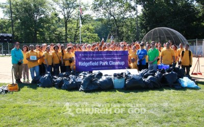 Veterans Memorial Park Cleanup