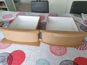 kraftage intégrale d un meuble en carton