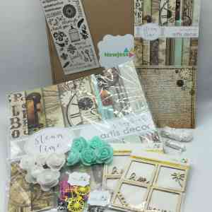 kit de scrapbooking-steam time