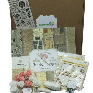 kit scrapbooking complet Amélie Prager