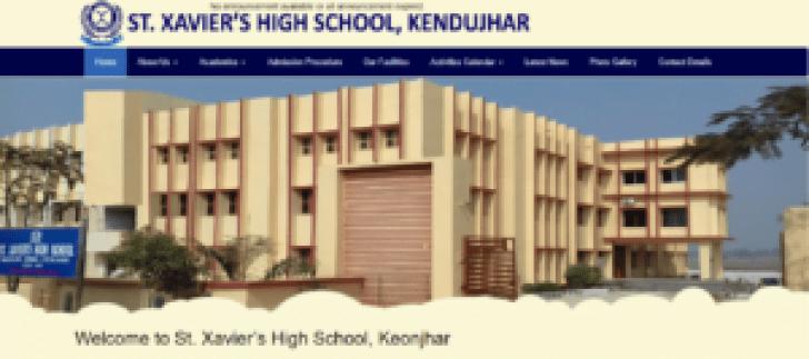 st xavier keonjhar recruitment