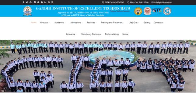GIET Bhubaneswar Recruitment 2021