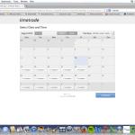 TimeTrade booking system