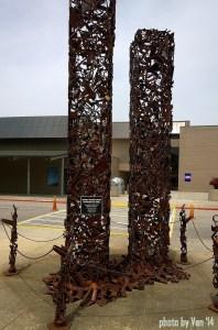 World Trade Center sculpture Oak Ridge TN