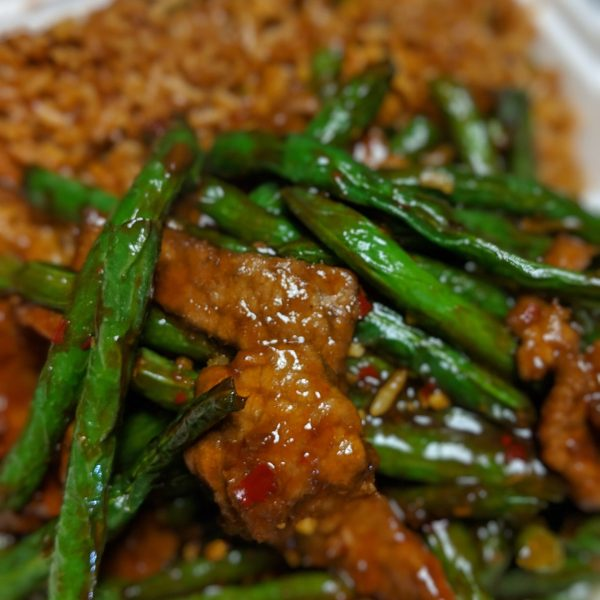 String Beans in Garlic Sauce