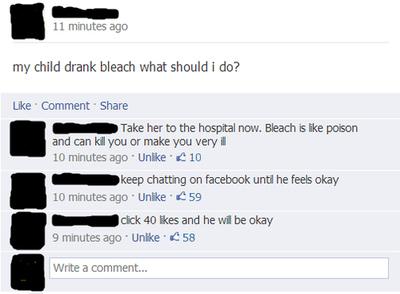 Kind-Bleichmittel-Facebook