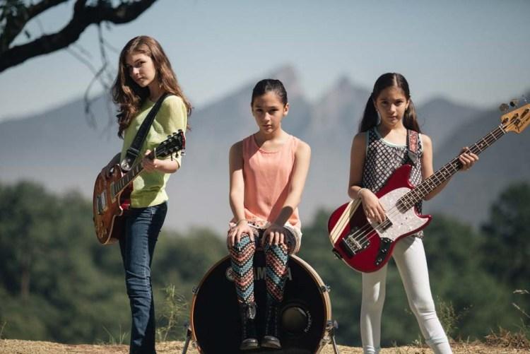 Daniela, Paulina und Alejandra sind The Warning und mögen Hardrock (Promofoto)