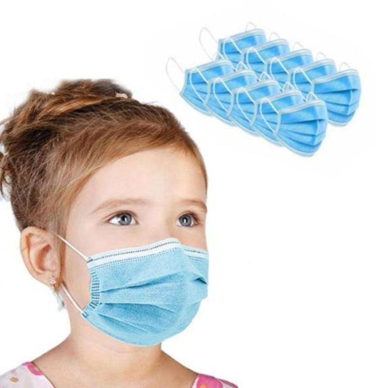 3 Ply Medical and Surgical Disposable Cotton Face Mask For Kids
