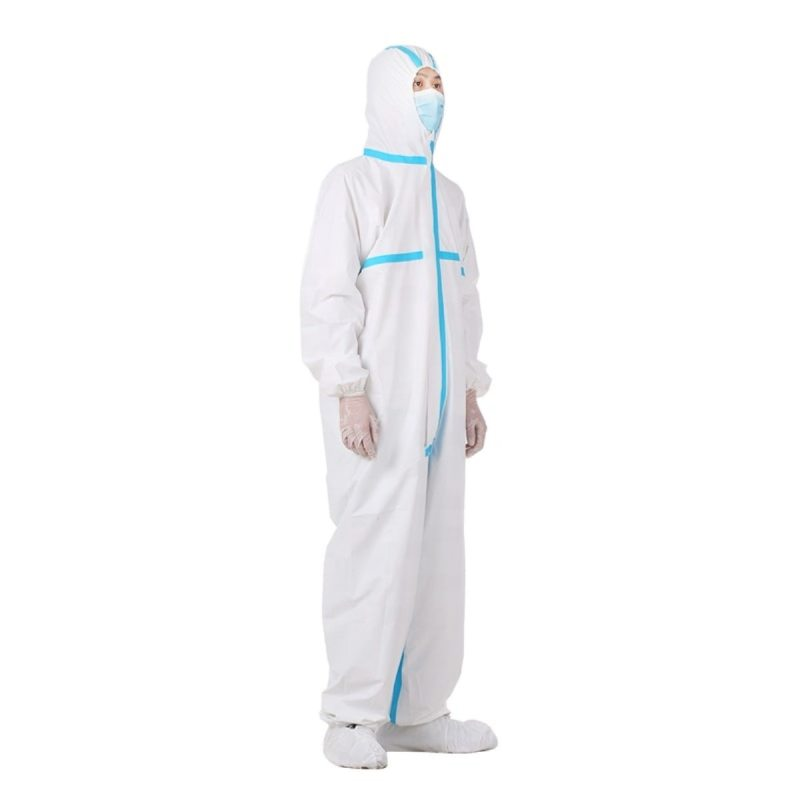 Medical Protective Clothing with Hood, Sterile, Disposable, AAMI Level 4
