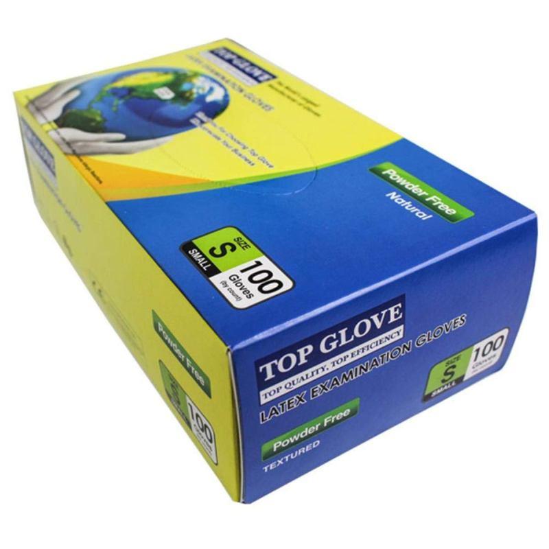 Top Glove Nitrile Disposable Gloves – Powder-free 100 Pcs