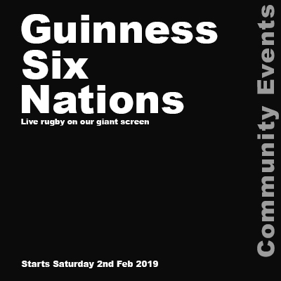 Guinness Six Nations - Screening poster