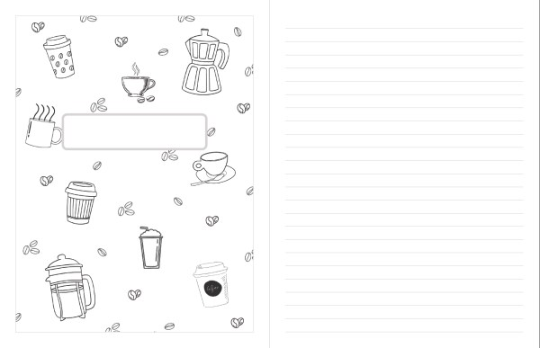 printable planner bonus coloring page notebook cover