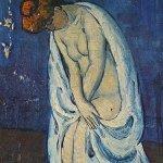 Woman Leaving the Bath, Pablo Picasso, 1901