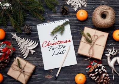 A Christmas To Do List