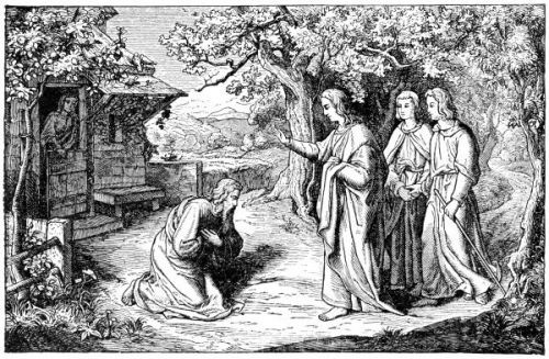 God Appeared to Abraham near the Trees of Mamre