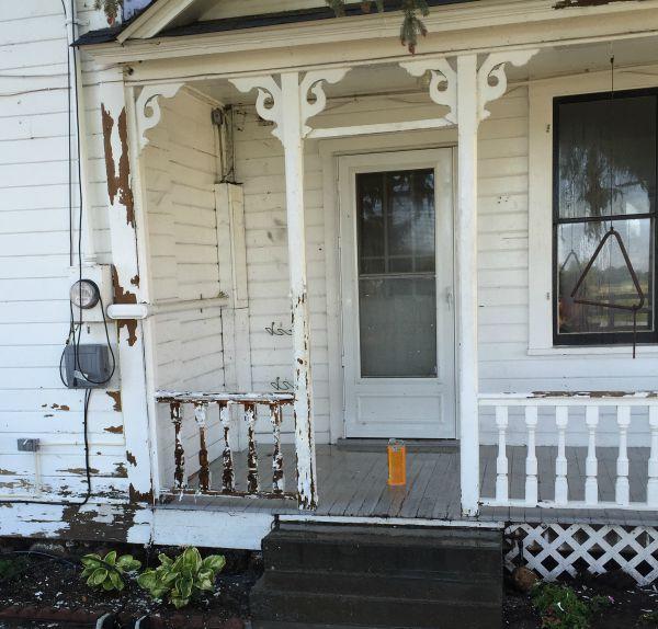 paint prep porch