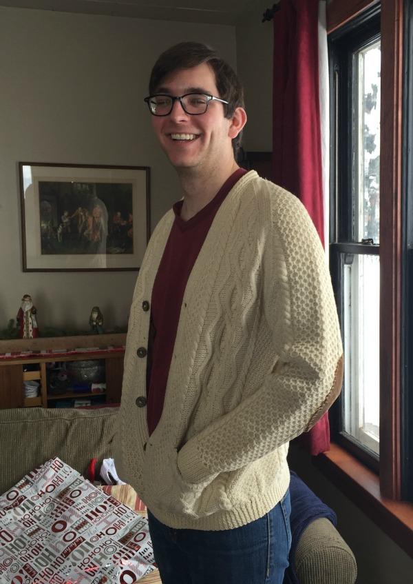christmas papa's sweater