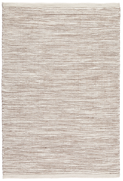 Newlife Rugs Stria brown and white 100% recycled plastic rug