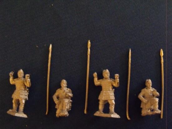 Ashiguru Foot Soldiers Standing