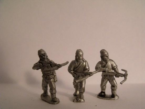 Crossbowmen in Short Robes