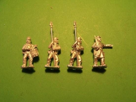 Command in Kepi, Standing