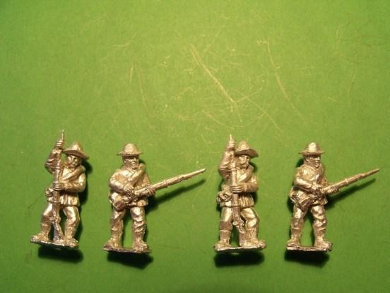 Infantry in Slouch Hat, Sack Coat & Blanket Roll, Loading