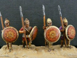 African Armoured Spearman