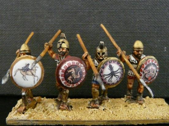 Hoplite Advancing (Linen Cuirass)