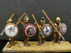 Hoplite Advancing (Linen Cuirass)
